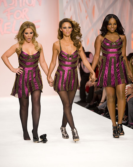'Fashion For Relief' show during London Fashion Week, Natural History Museum, London, Britain - 17 Sep 2008